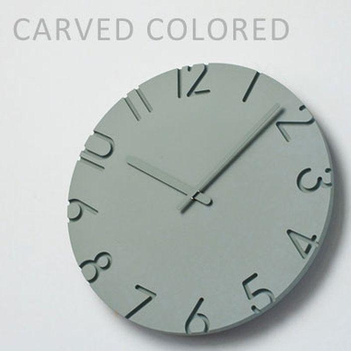 タカタレムノス壁掛け時計振り子時計CARVEDCOLORED(カーヴドカラー)※Mサイズの参考価格です。その他サイズの価格はご注文後にメールにてご案内致します【楽ギフ_包装】【2016年新作】