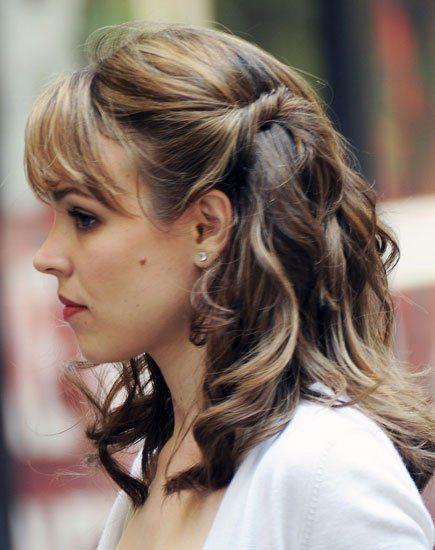 How-To: Rachel McAdams's Twisty Waves