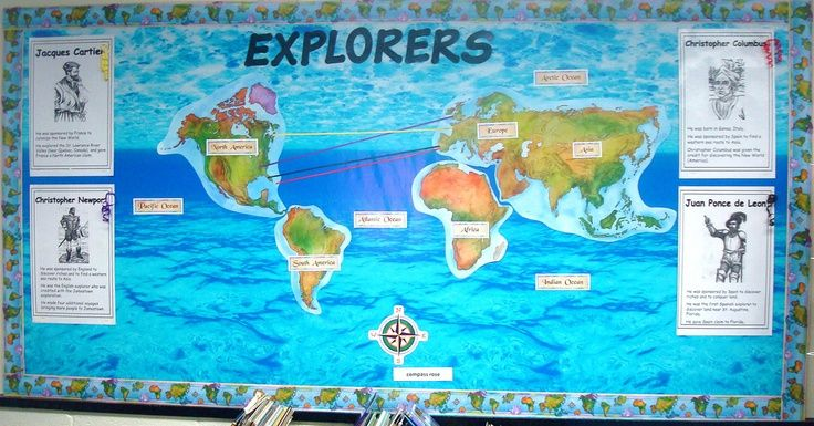 Social+Studies+Interactive+Bulletin+Boards | Explorers Bulletin Board