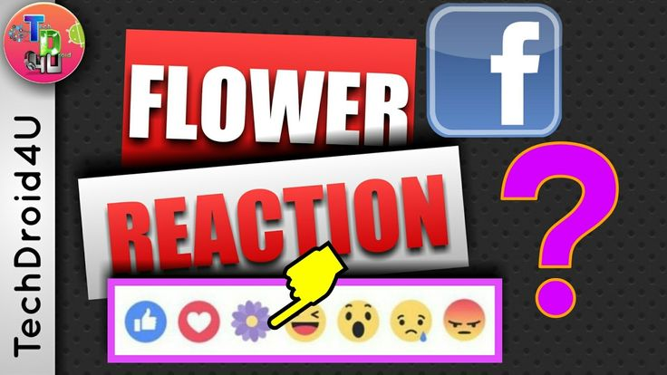 Facebook Flower Reaction What is it? | Mothers day https://youtu.be/fYPtDS45bzM