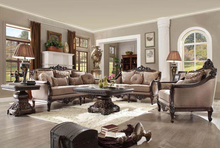 Homey Design HD 09 3 Pcs Sofa Set