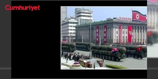 Kuzey Kore: Nükleer saldırıyla cevap veririz: Kuzey Kore,kurucu lideri Kim İl-Sung'un doğumunun kutlandığı 1#5Nisan 'Güneşin Günü' törenlerinde ilk defa balistik füzelerini gösterdi.