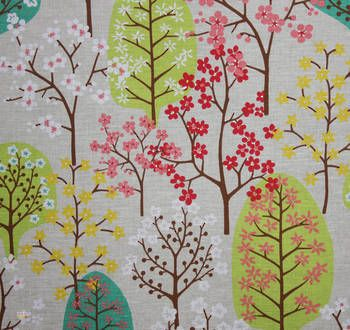 Latest Designer Fabric 'Haga in Greens and Yellow' by Spira (SWE). Buy online or visti our fabric retail store in Christchurch.