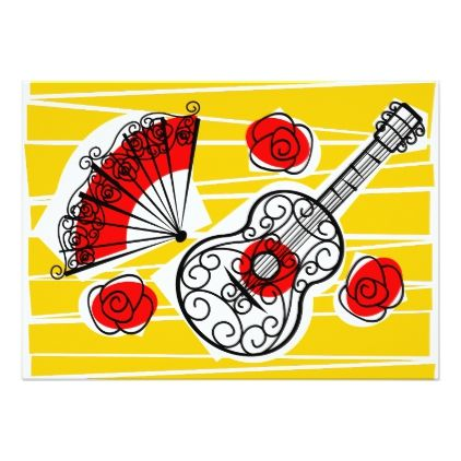 Spanish Souvenirs group text back horizontal Card  $2.16  by QuirkyChic  - custom gift idea