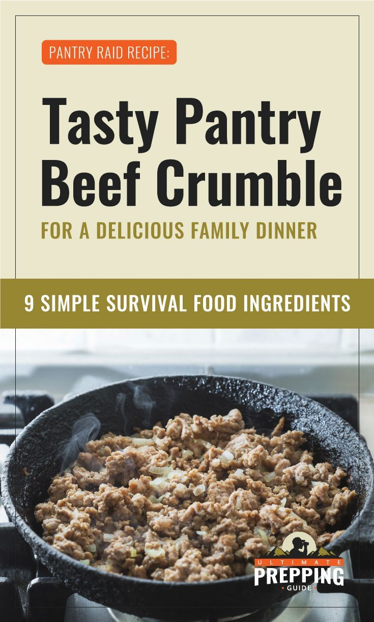 Tasty Pantry Beef Crumble For A Delicious Family Dinner Recipe Recipe Recipes Delicious Family Dinners Beef Crumble Recipe