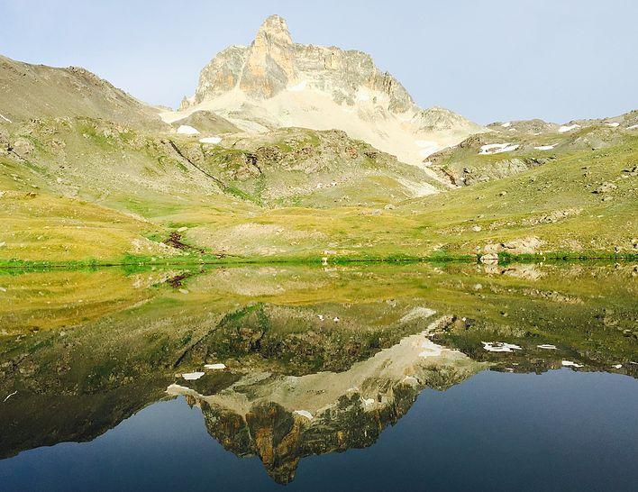 Lac St Marguerite, Valfréjus, lac de montagne, randonnée, vacance à la montagne, la montagne l'été, maurienne, randonnée en maurienne