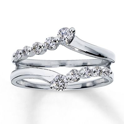 Wedding Band Jackets For Twisted Engagement Rings
