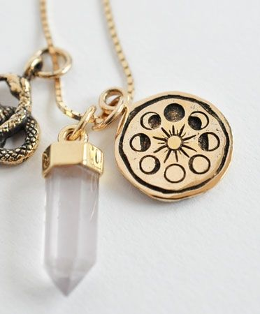 Gold Ceremony Necklace by MANIAMANIA