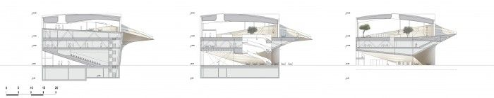 Gallery of Helsinki Central Library Winning Proposal / ALA Architects - 22