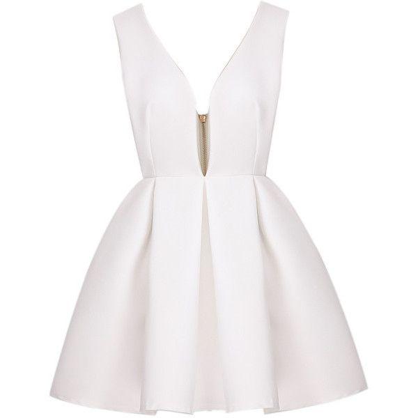 Best 25+ White skater dresses ideas only on Pinterest   Hoco ...