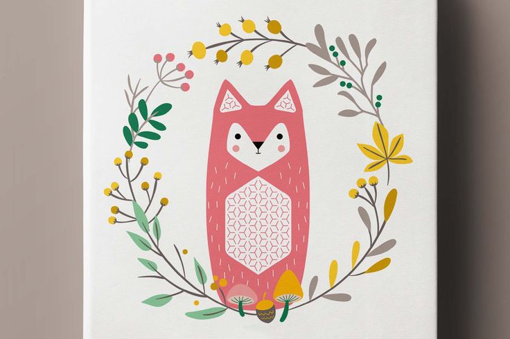 FOX pocket notebook, notes(z) #stationery #baby #kidsroom #fox #illustration #design #notebook #cute