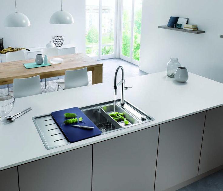 Funktionalität U0026 Ästhetik: Spülen Für Design Küchen Von BLANCO