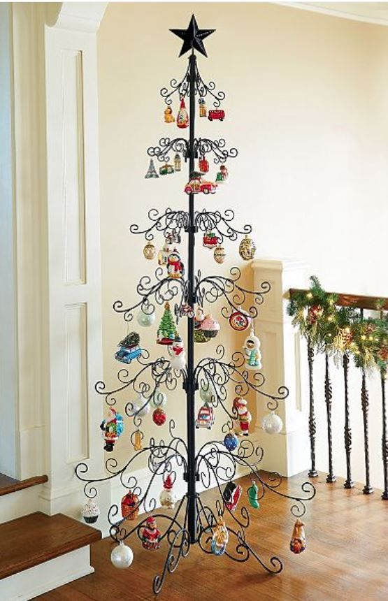 Ornament Tree Large 7 Scroll Tree Ornament Display Trees With