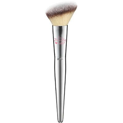 IT Brushes for Ulta Blush Brush # 227. I felt this at Ulta the other day and it's so soft and it feels like a good-quality brush.