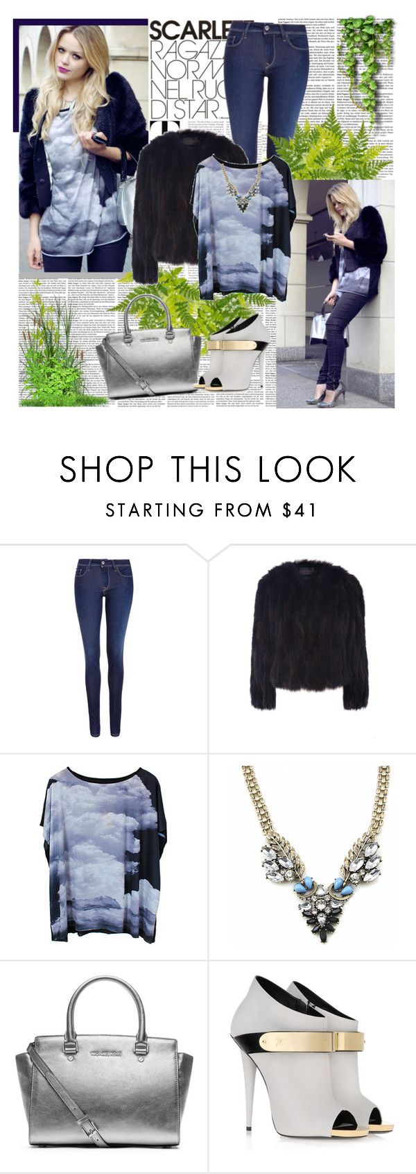 """""""Faux fur coat"""" by amaci ❤ liked on Polyvore featuring Salsa, Dolce&Gabbana, Hockley, MICHAEL Michael Kors, Giuseppe Zanotti and SCARLETT"""