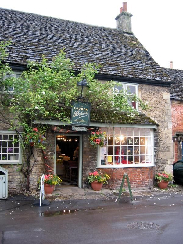 """Lacock - Wiltshire, England.  In the Cotswolds.  see my board """"Britain - The Cotswolds""""."""