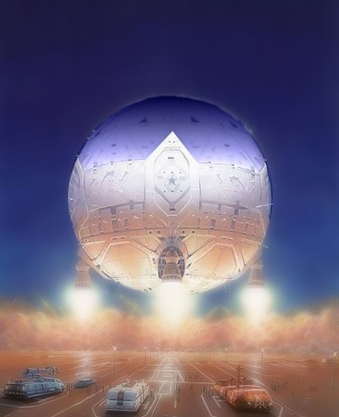 Montgolfière Aéro-spatiale pour élévations et orbites planétaires ( Modèle possible #1 )