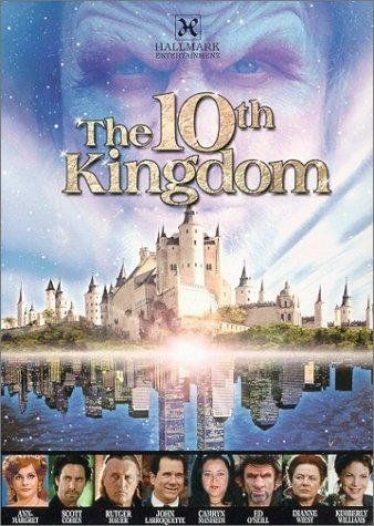 "The Tenth Kingdom-a fairy tale comes to life for a father and daughter who happen upon a alternate dimension where they travel through the tenth kingdoms.. ""Oh huff puff!"" It is a must see!"