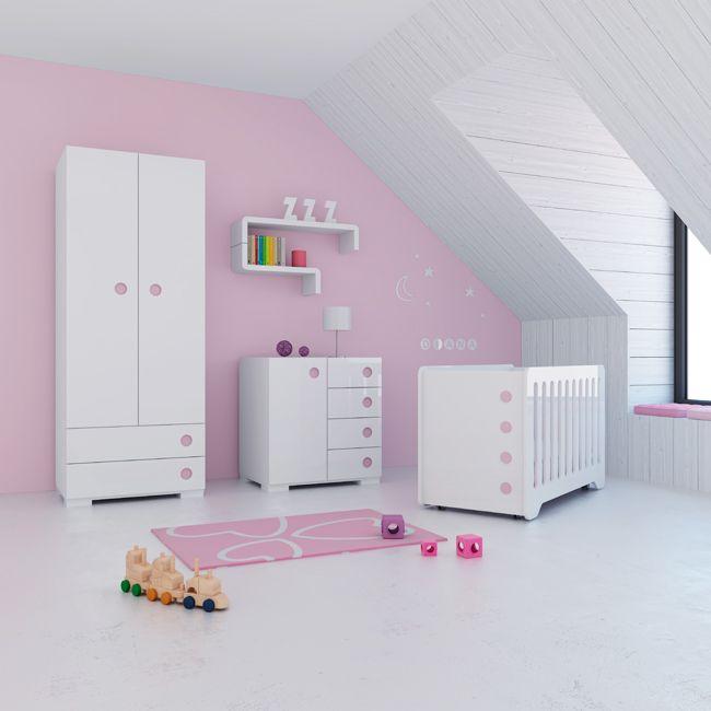 Nos encanta este conjunto de habitaci n para las - Comoda para habitacion ...