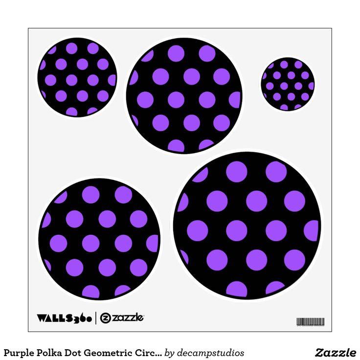 173 best Geometric Polka Dot Decals images on Pinterest ...