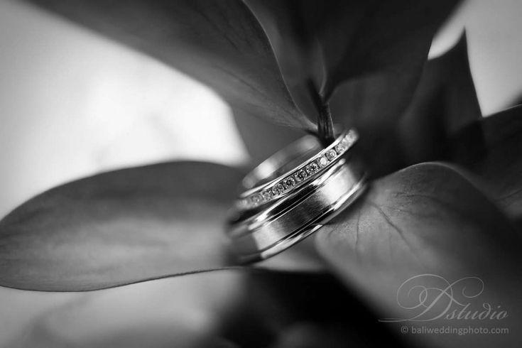 wedding ring shot by bali photographer