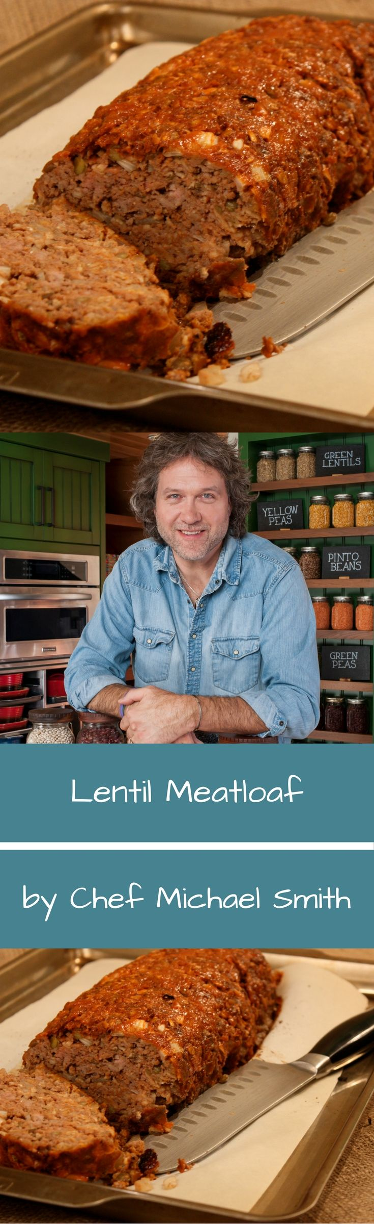 Everybody loves meatloaf; it's one of our all time favourite comfort foods. Especially when you know its rich hearty flavours come with a hidden nutritional powerhouse. Lentils easily stir into the mix.