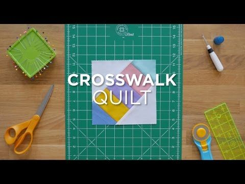 Crosswalk - Quilt Snips Mini Tutorial