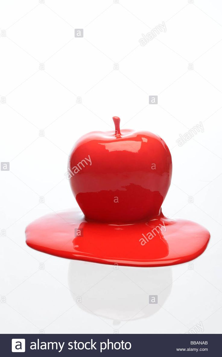 Download this stock image: red apple - BBANAB from Alamy's library of millions of high resolution stock photos, illustrations and vectors.