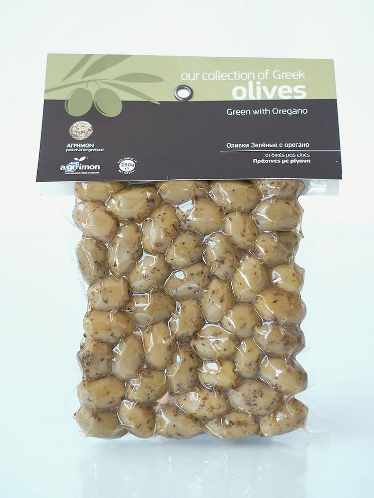 Agrimon Green Olives with Oregano 250gr