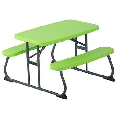 lifetime picnic table assorted colors