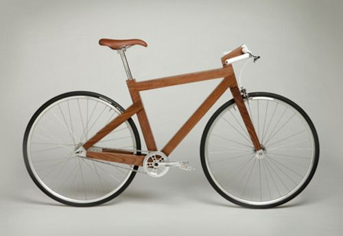 #wood #bike: Gifts Cards, Custom Furniture, Wooden Bike, Wood Bike, Lagomorph Design, Black Walnut, Wood Frames, Woodenbike, Bicycle