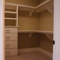 how to build corner shelves in closet Google Search