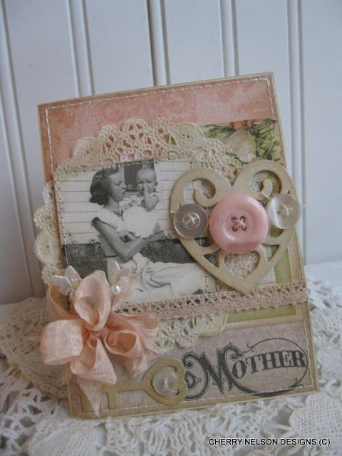 Cherry's Jubilee - inspiration for Mother's Day.