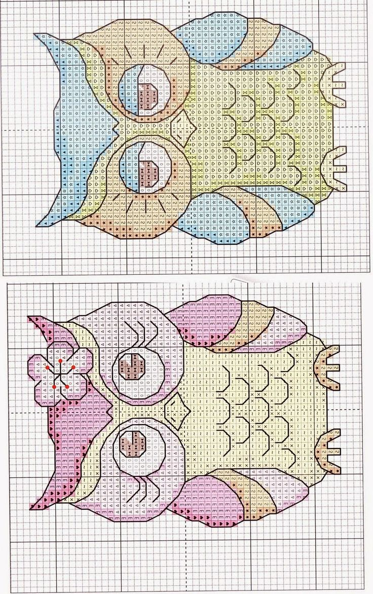 FREE CROSS STITCH CHARTS: BIRDS ~~ FUNNY OWLS  PG 3 OF 4