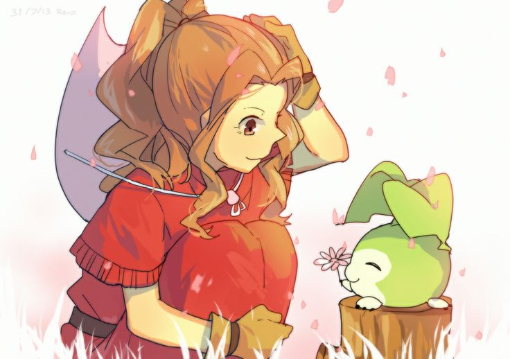 Tanemon to Mimi. <3