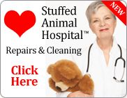 Stuffed Animal Hospital - Care and repair for stuffed animals and teddy bears. Hope I never have to use this!