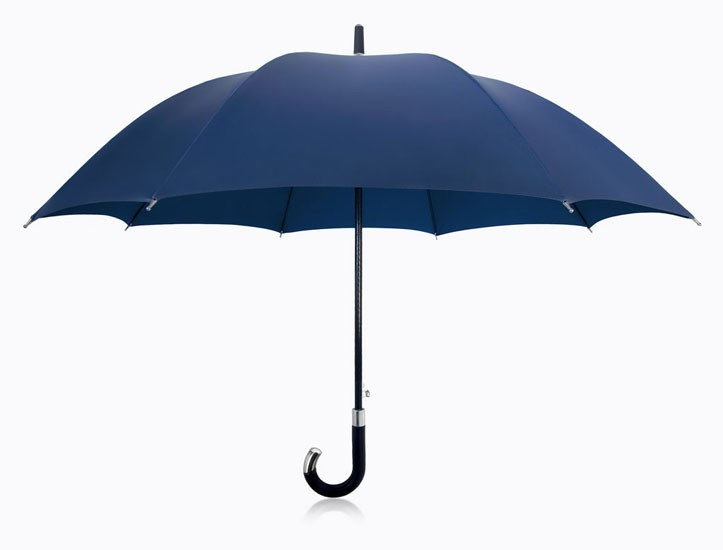 DAVEK- ELITE Umbrella Blue