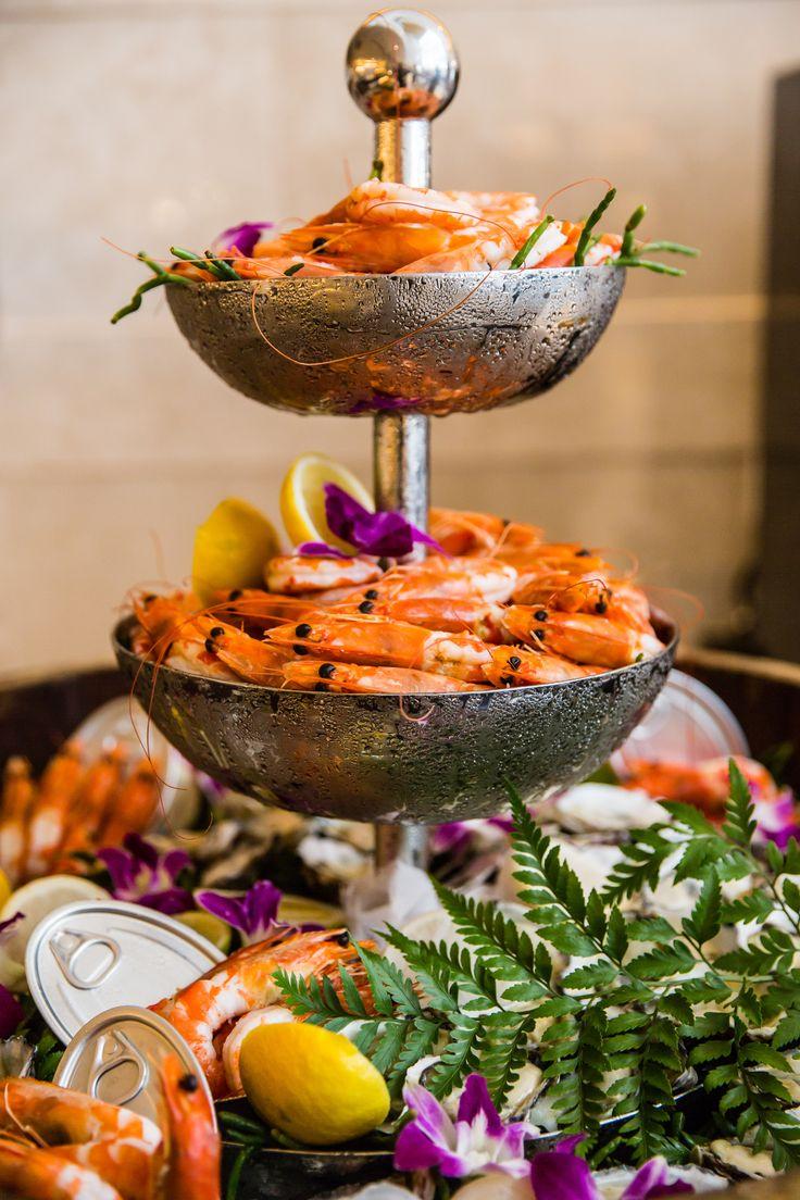 Seafood buffet at Cafe Mix