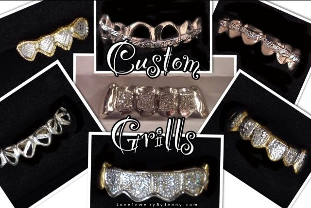 Custom Grillz, Grills Teeth Jewelry