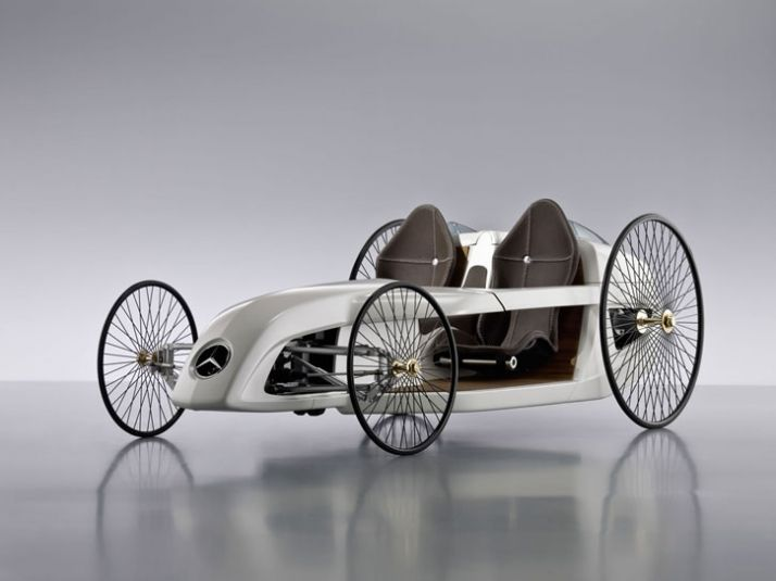 Mercedes Hybrid F-Cell Roadster