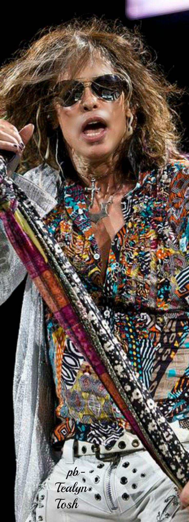 Steven Tyler (Aerosmith)❇Téa Tosh                                                                                                                                                                                 More