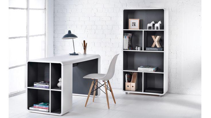 Orbit Bookshelf Desk