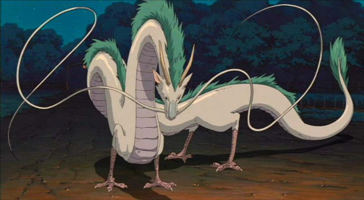 Spirited Away Haku in Dragon form. Come at me, bro!