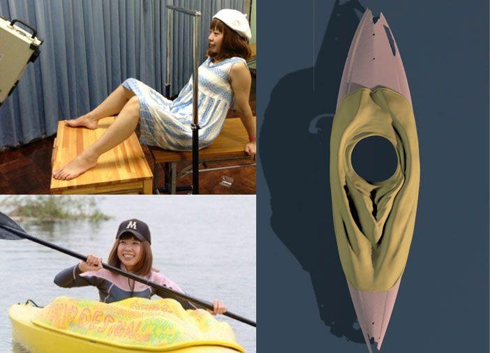 En 2016, la japonesa Megumi Igarashi escaneó la superficie de su vagina, la imprimió en 3D para crear un kayak, y distribuyó el archivo digital. Fue arrestada por infringir las normas de obscenidad.