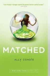 Young Adult Fiction Series Grownups Will Enjoy...'Matched' by Ally Condie