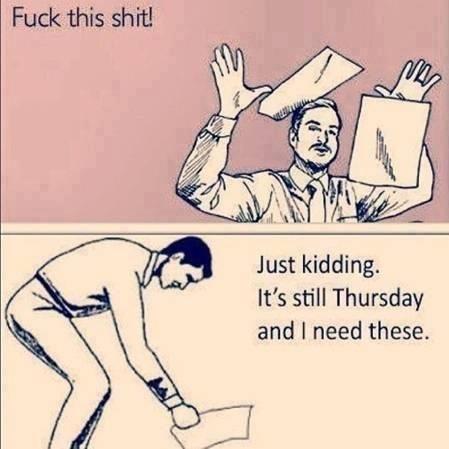 Ah, Thursdays.