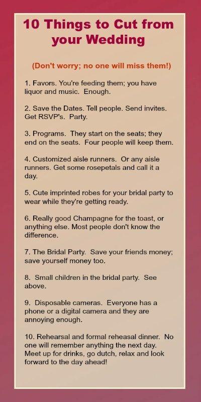 Comment avoir un beau mariage de budget – Wedding ideas