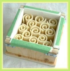 How to make Soap Curls for decorative soap