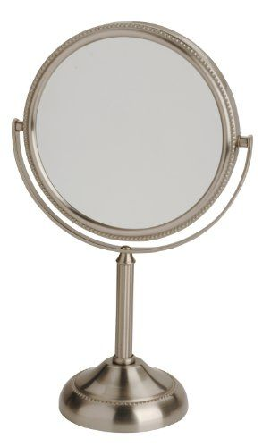 JP910NBP Finish: Nickel Features: -1x and 10x magnification.- #Provides magnification options to display clean reflection.-Smooth 360-degree swivel design.-Mirror...