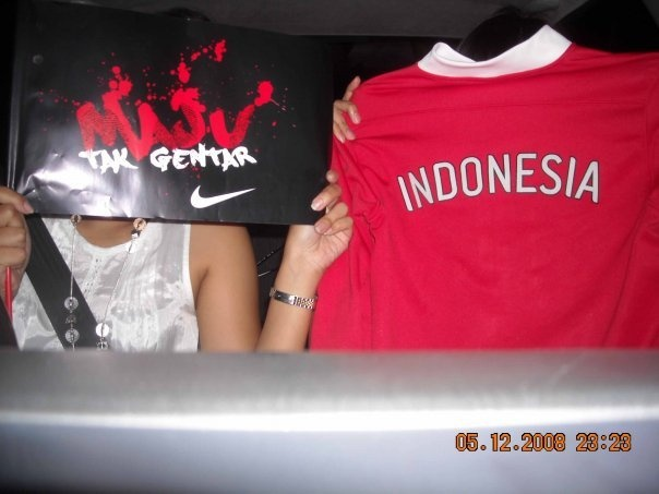 AFF 2008. we love you timnas Indonesia. no matter what.